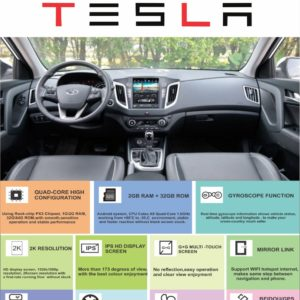 Hypersonic Creta Tesla Android Player
