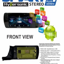 Hypersonic Honda Amaze Android Stereo