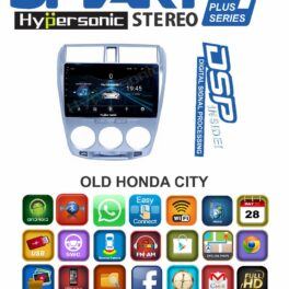 Hypersonic Old Honda City Android Stereo