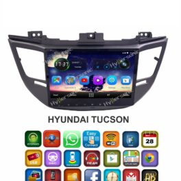 Hypersonic Hyundai Tucson Android Stereo