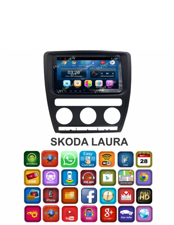 Hypersonic Skoda Laura Android Stereo