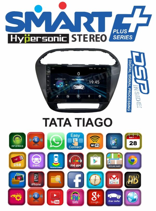 Hypersonic Tata Tiago Android Player