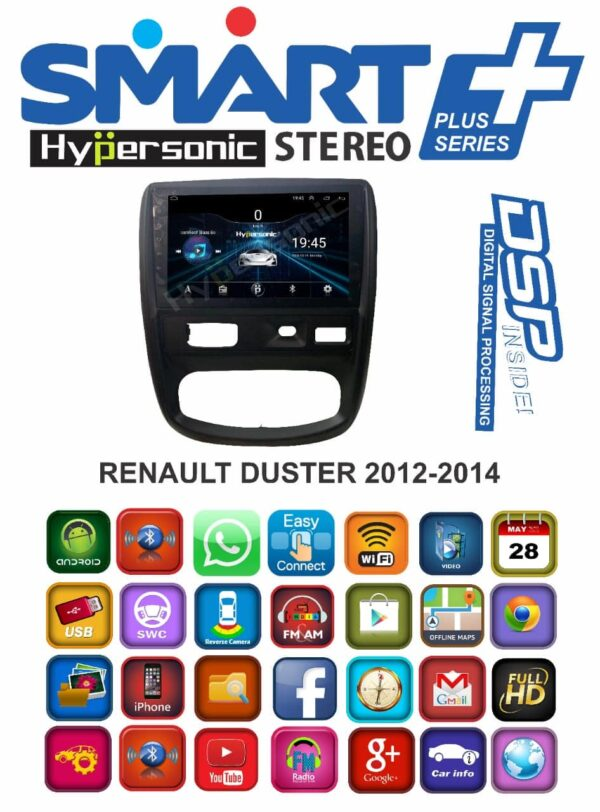 Hypersonic Renault Old Duster Car Music System