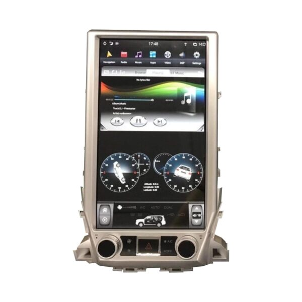 Hypersonic Land Cruiser 2016-20 Tesla Android Player