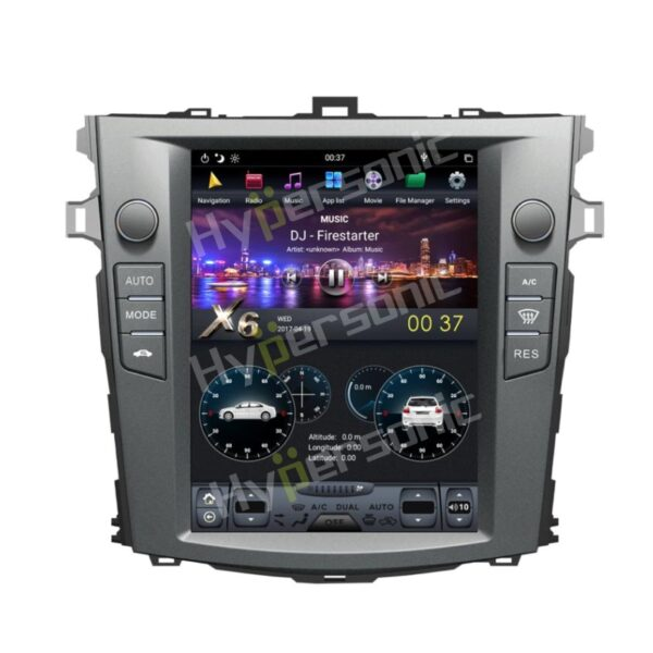Hypersonic Old Corolla Altis 2006-11 Tesla Android Player